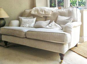 The target sofa
