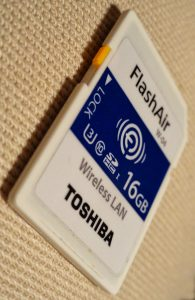 Toshiba's FlashAir card