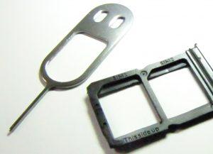 The OnePlus 6 is dual SIM but not optionally SIM + microSD