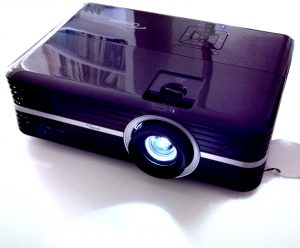 The Optoma UHD51 4K Projector
