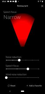 Smart 3D app narrow focus