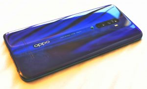 Ocean Blue variant of the Oppo Reno 2 donated to Tested Technology
