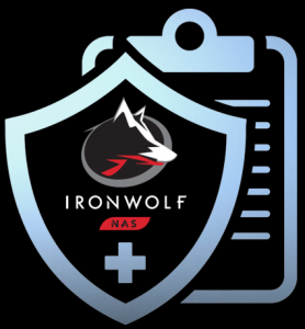 Iron Wolf Health Management Logo